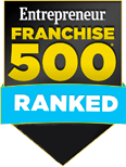 Entrepreneur franchise 500 ranked