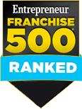 Entrepreneur franchise 500 ranked
