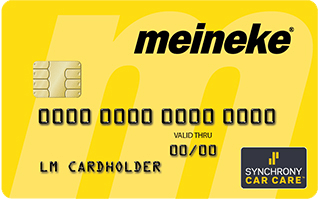 Meineke Credit Card