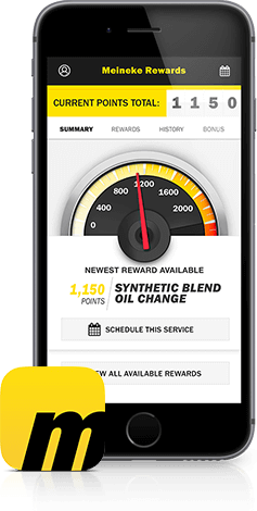 Meineke Oil Change >> Meineke Rewards Auto Rewards Program From Meineke