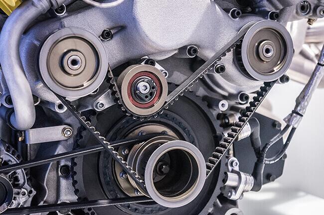 Car engine serpentine belt