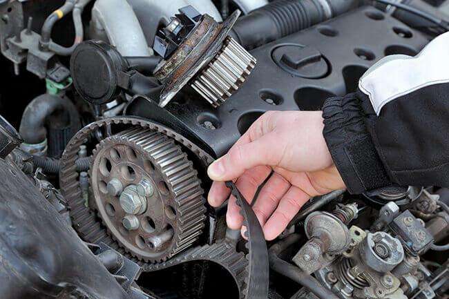 Serpentine belt inspection