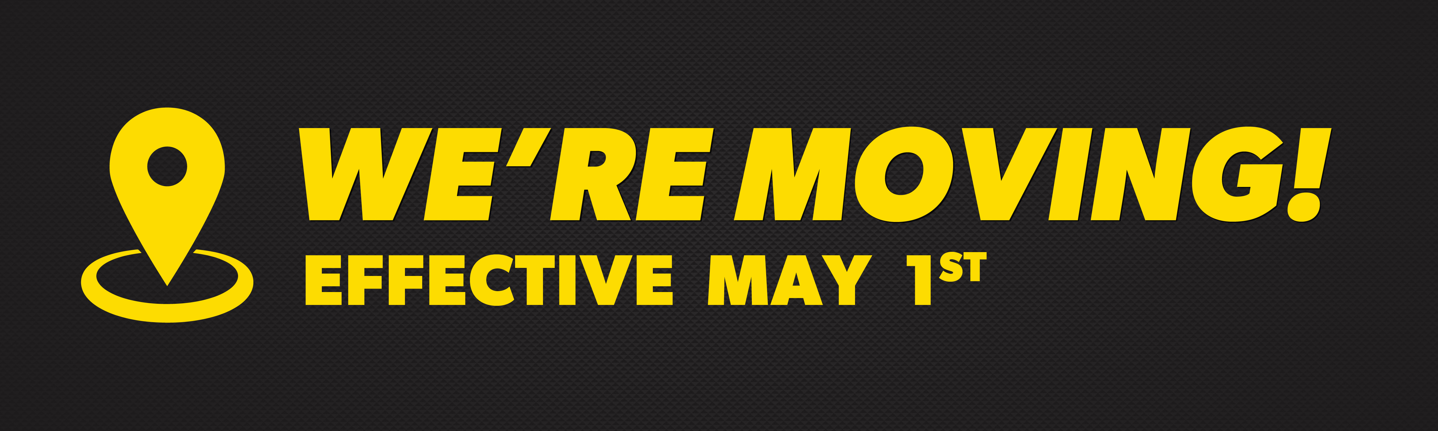 The Meineke in Anchorage is moving on May 1st! Visit our new location for your car repair needs.