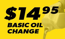 $14.95 Basic Oil Change Coupon