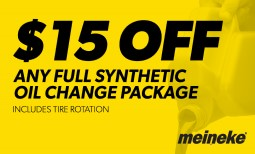 $15 Off Full Synthetic Oil Change Coupon