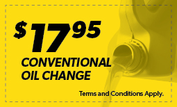 $17.95 Basic Oil Change Coupon