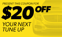 $20 Off Tune-Up Service - Window 1 2019 Coupon