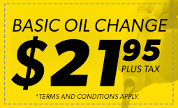 $21.95 Basic Oil Change Coupon