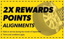 Double Rewards on Alignment Coupon
