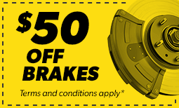 $50 Off Brakes Coupon