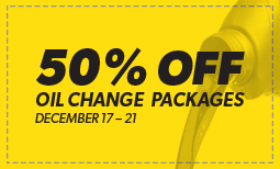 Holiday Oil Changes Coupon