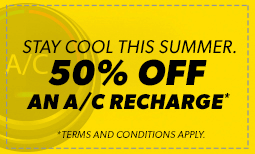 50% Off A/C Recharge Coupon
