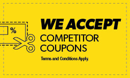 We Accept Competitor Coupons Coupon