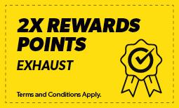Double Reward On Exhaust Coupon