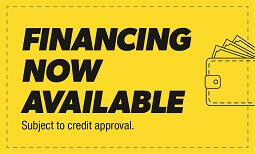 Financing Now Available Coupon