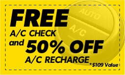 A/C Check with 50% Off Coupon