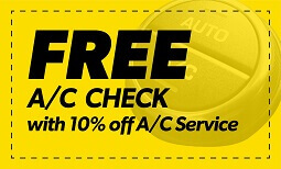 Free A/C Check + 10% Off Coupon