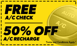 AC Check/AC Recharge Coupon