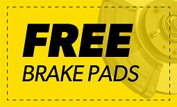 Free Brake Pads Coupon