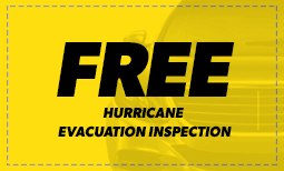 Free Hurricane Evacuation Inspection Coupon
