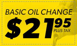 Basic Oil Change $21.95 Coupon