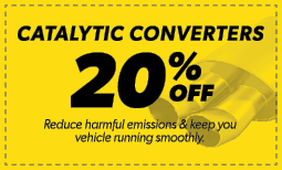 20% Off Catalytic Converters Coupon