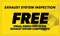 Free Exhaust System Inspection Coupon