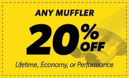 20% Off Any Muffler Coupon