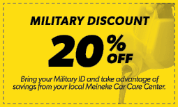 20% Military Discount Coupon