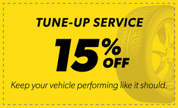 15% Off Tune-Up Service Coupon