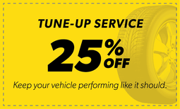 25% Off Tune-Up Service Coupon