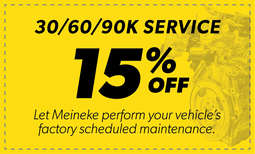 15% Off 30/60/90k Service Coupon