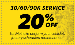 20% Off 30/60/90k Service Coupon