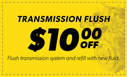 $10.00 Off Transmission Flush Coupon