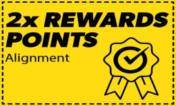 Double Reward On Alignment Coupon