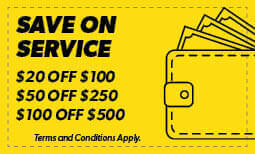 Save On Service Coupon