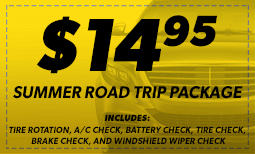 Summer Road Trip Package: $14.95 (w/ A/C) Coupon