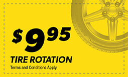 $9.95 Tire Rotation Coupon