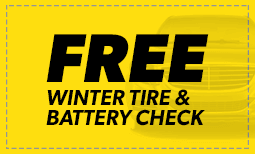 Free Winter Tire & Battery check Coupon
