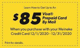 December Synchrony Rebate Coupon