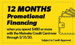 12 Months Promotional Financing Coupon