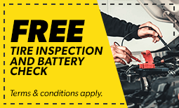 Free Tire Inspection Coupon