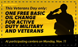 Veteran's Day Coupon